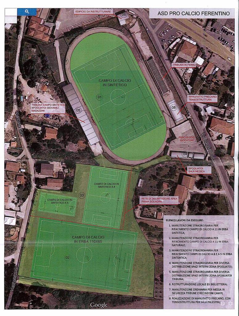 Asd Pro Calcio centro sportivo Frusinello